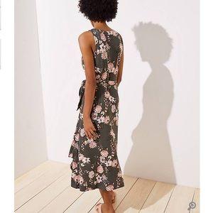 LOFT Dresses - ANN TAYLOR LOFT Boutique Wrap Midi Dress